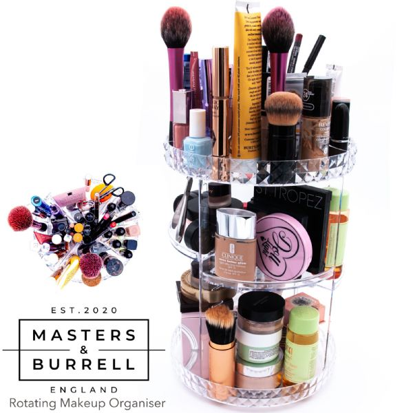 Rotating 360 Degree Makeup Organiser